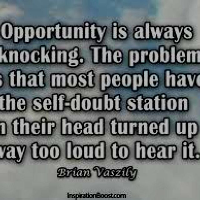Opportunity Quotes Pinterest: Opportunity Knocks.