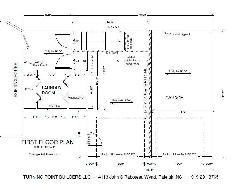 Http Www Turningpointbuilders Com Garage Additions Html Garage Addition Garage Plans Modular Home Builders
