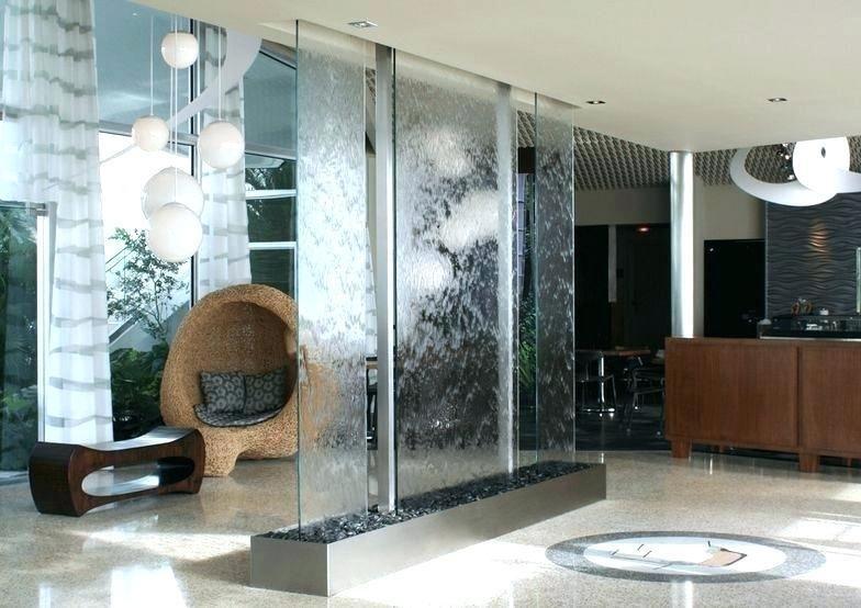 Indoor Wall Waterfall Designs Ideas House Indoor Water Features