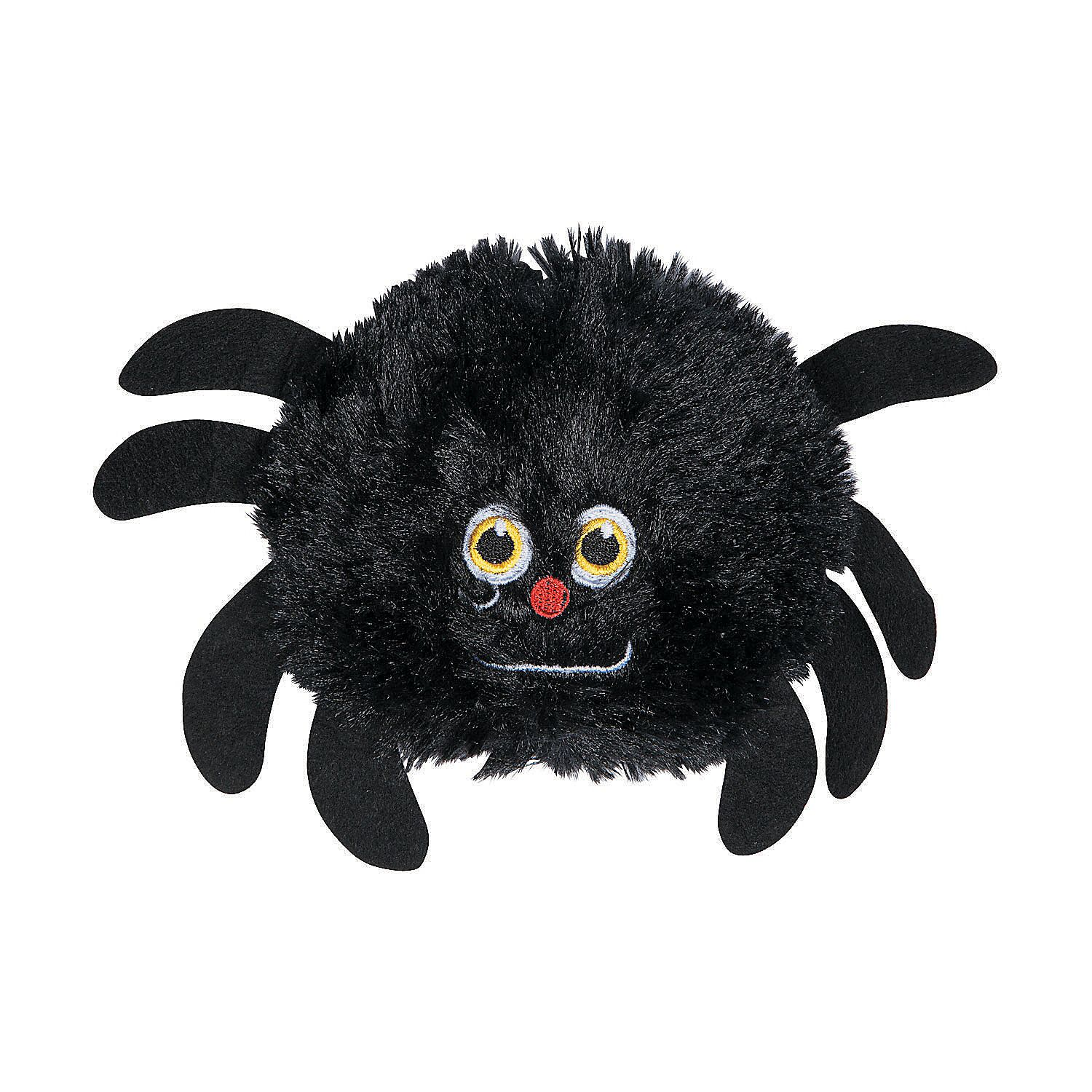 Plush Stuffed Spiders Halloween animals, Halloween