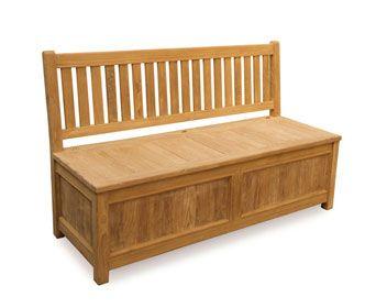 Windsor Garden Storage Bench Teak Bench Box Outdoor Storage