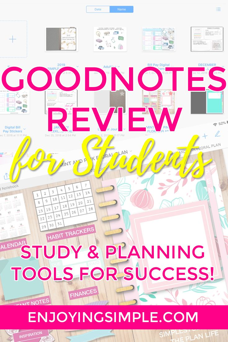 Student Tools GoodNotes Review and Ways to Use the App