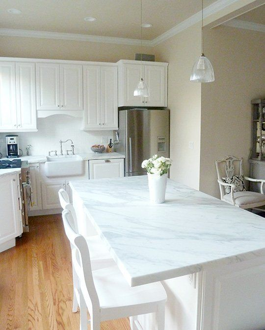 Kitchen Cabinet Paint Colors Cream: Before And After: Kyle's Kitchen Remodel