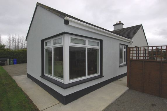 Extension With Corner Window House Extensions Building A House Corner Window