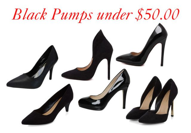 """""""Black Pumps under $50"""" by trina-a-taylor on Polyvore featuring Office"""