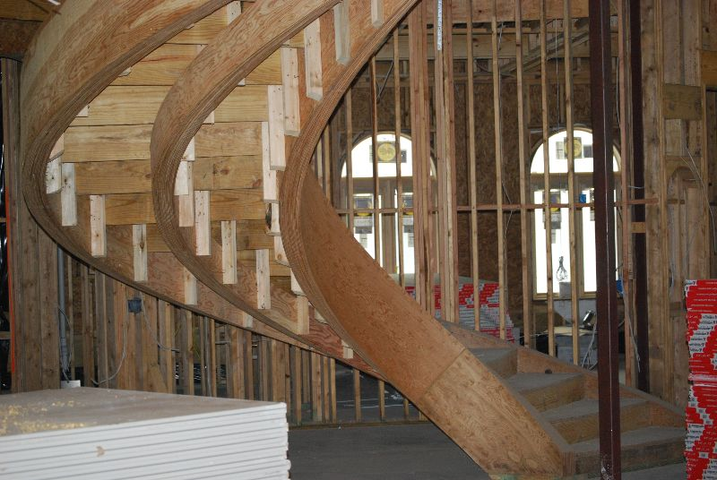 Structural Steel Curved Stringer Stair   Google Search | Stairs | Pinterest  | Curb Appeal