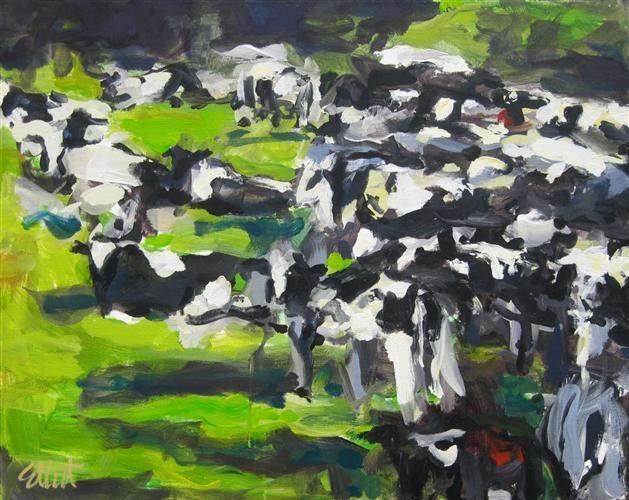 """Holsteins"" by Elliot Coatnery http://www.ugallery.com/elliot-coatney"