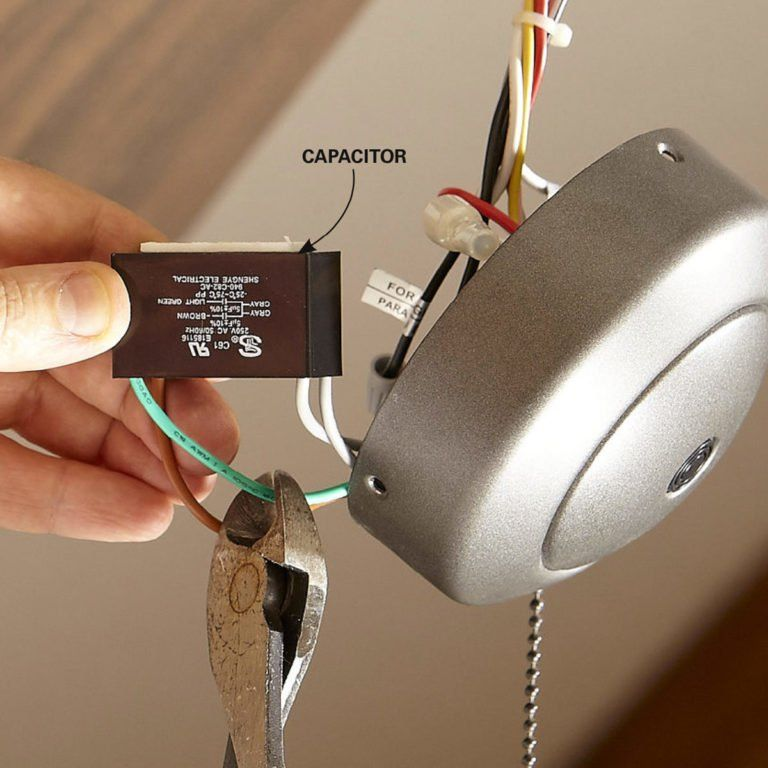 How to Install a Ceiling Fan Remote Ceiling fan with