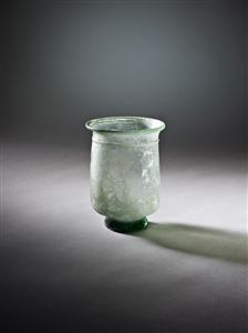 Object's Name: Tumbler Period: Late Roman Material: Glass Site: Makr, el-