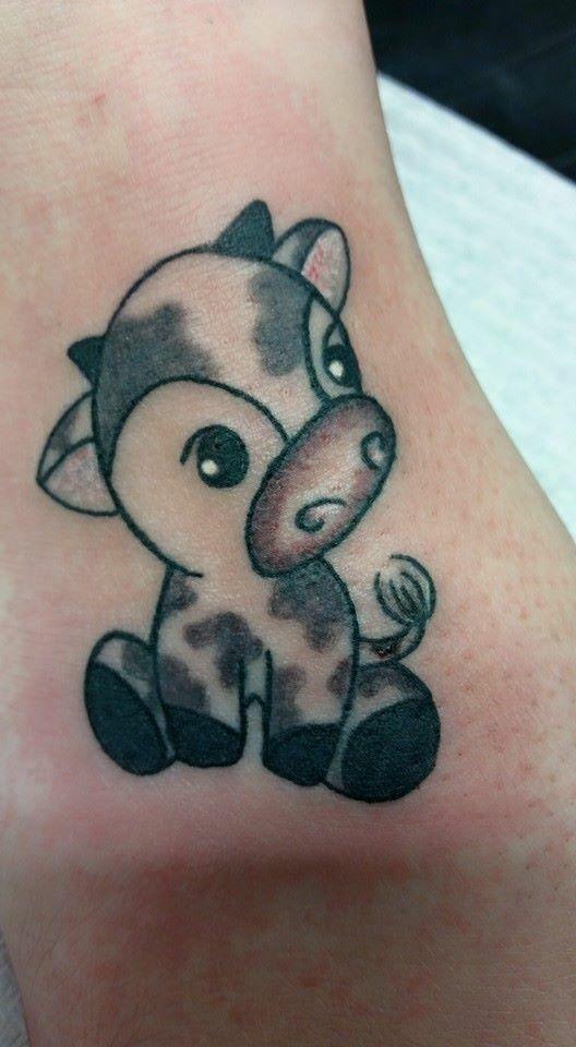 49729f8573883 Such a cute little moo cow Duck Tattoos, Mommy Tattoos, Life Tattoos, Dream