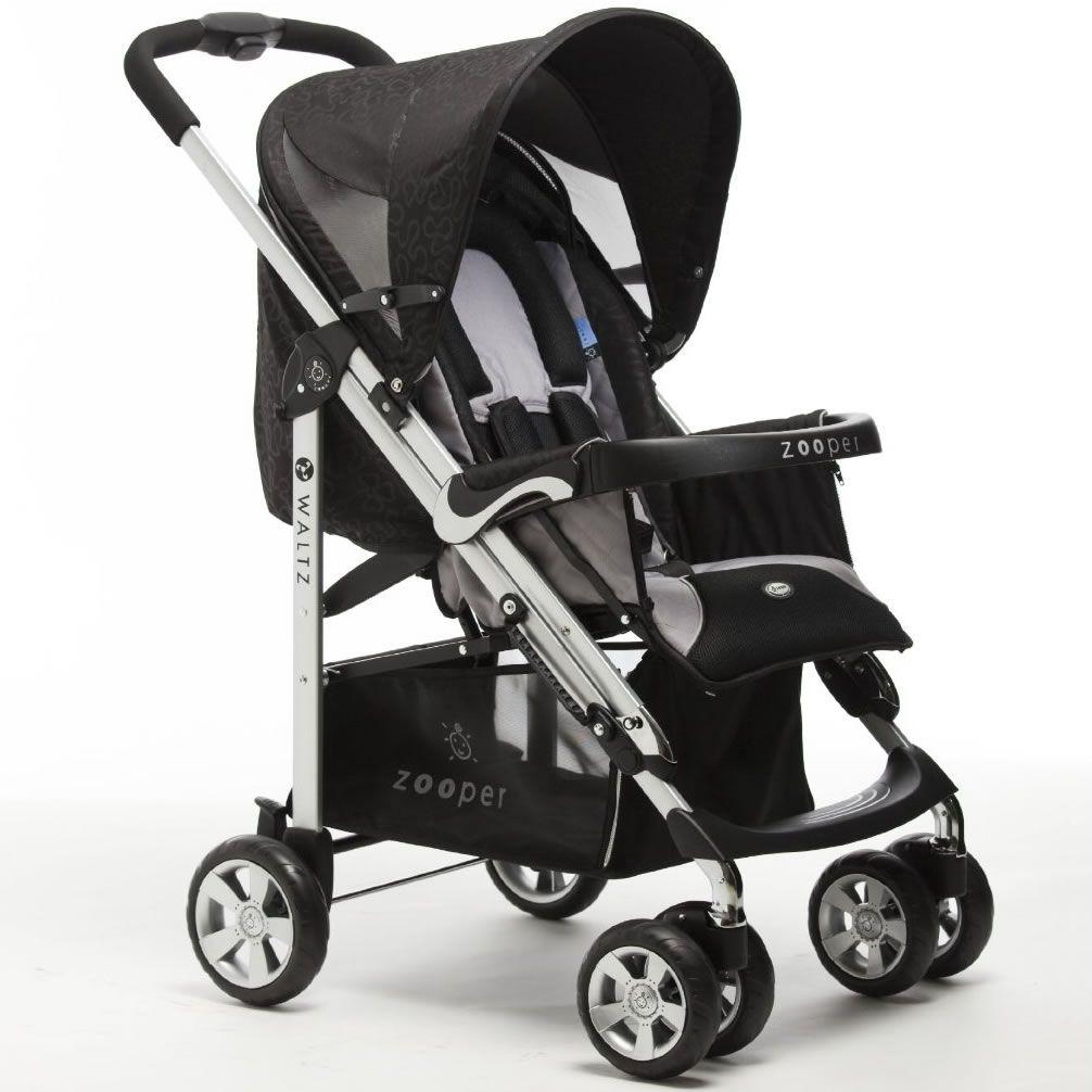 Zooper 2011 Waltz Standard Stroller in Star Black
