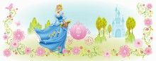 """Disney Cinderella"" Poster image for lighted headboard 