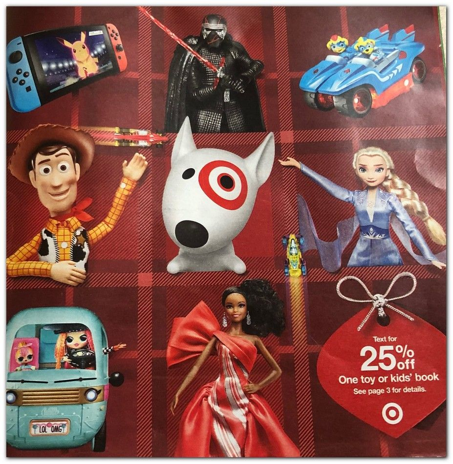 Target Toy Catalog 2019 Target Toys Toy Catalogs Holiday Toys