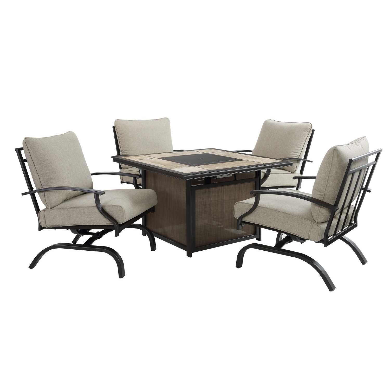 Living Accents 5 pc. Halsted Patio Set - Ace Hardware ... on Ace Outdoor Living id=12818