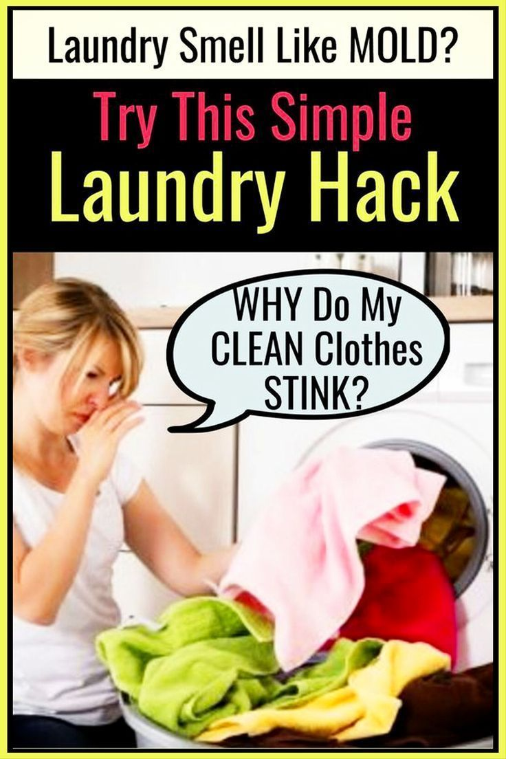 How To Get Sour SMELL Out Of Clothes & Towels Sour
