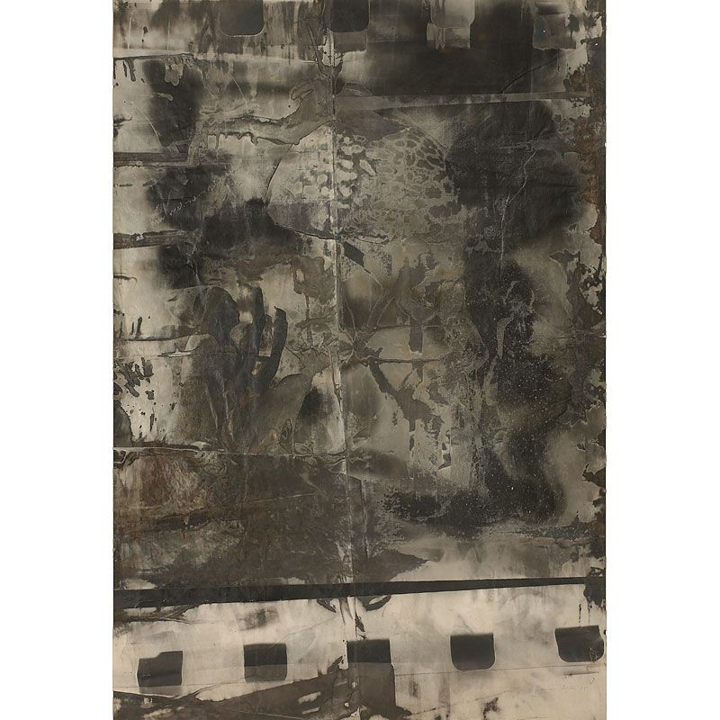 """Untitled, 1975. """"A negative is never finished. You can handle a negative. You can do what you want. I can play with it. I can make with it. I can mix with it. I can choose with it."""" —Sigmar Polke"""