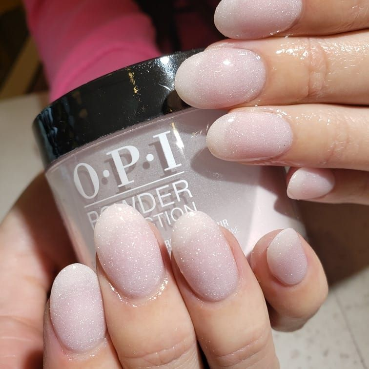 Dip Powder By Anna ☃️ Using Opi Princess Rule Bellanailbar Nailart Naildesign