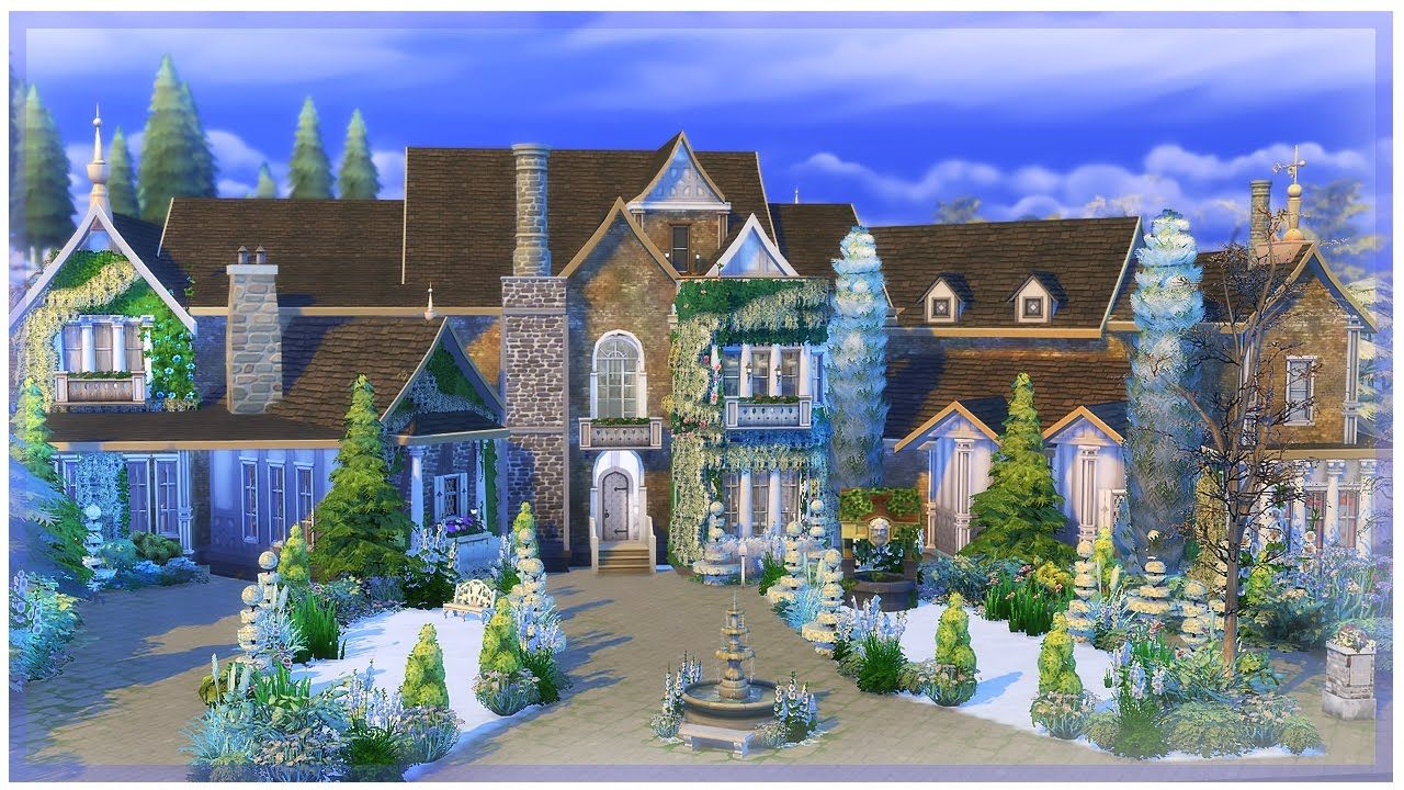The Sims 4 Mansion Build - Calliwell Estate | Sims 4 | Sims