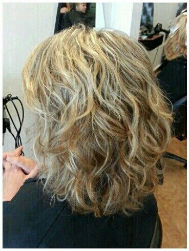 beach wave shorter hair