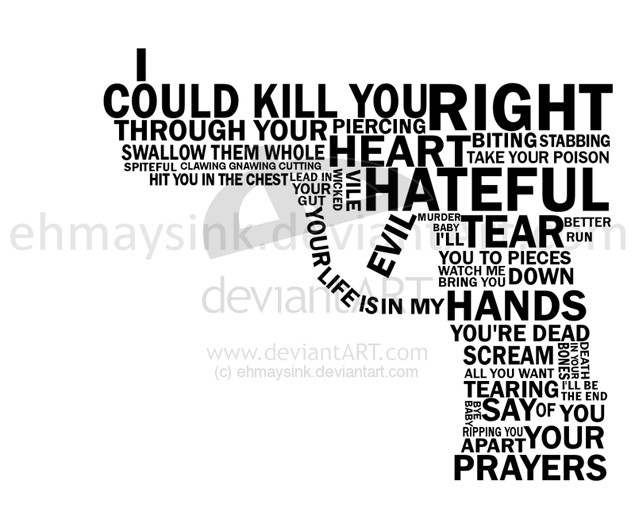 anger pain revenge bitterness rejection hatred broken promises