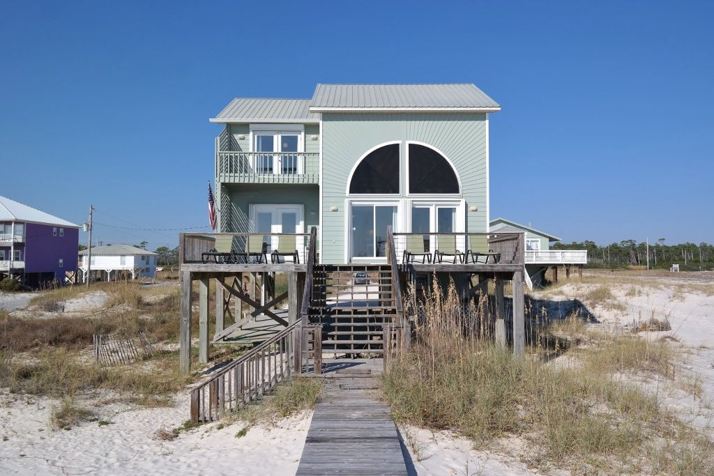 4br3ba gulf front house directly on homeaway fort