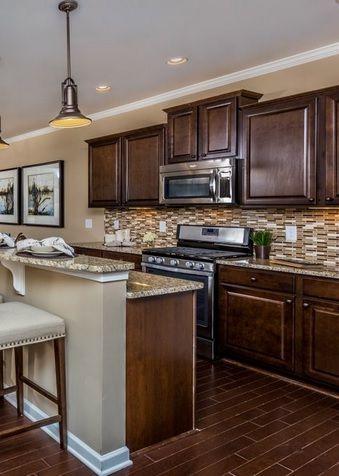 Kitchen Planning in a New Construction Home in 2020 | Dark ...