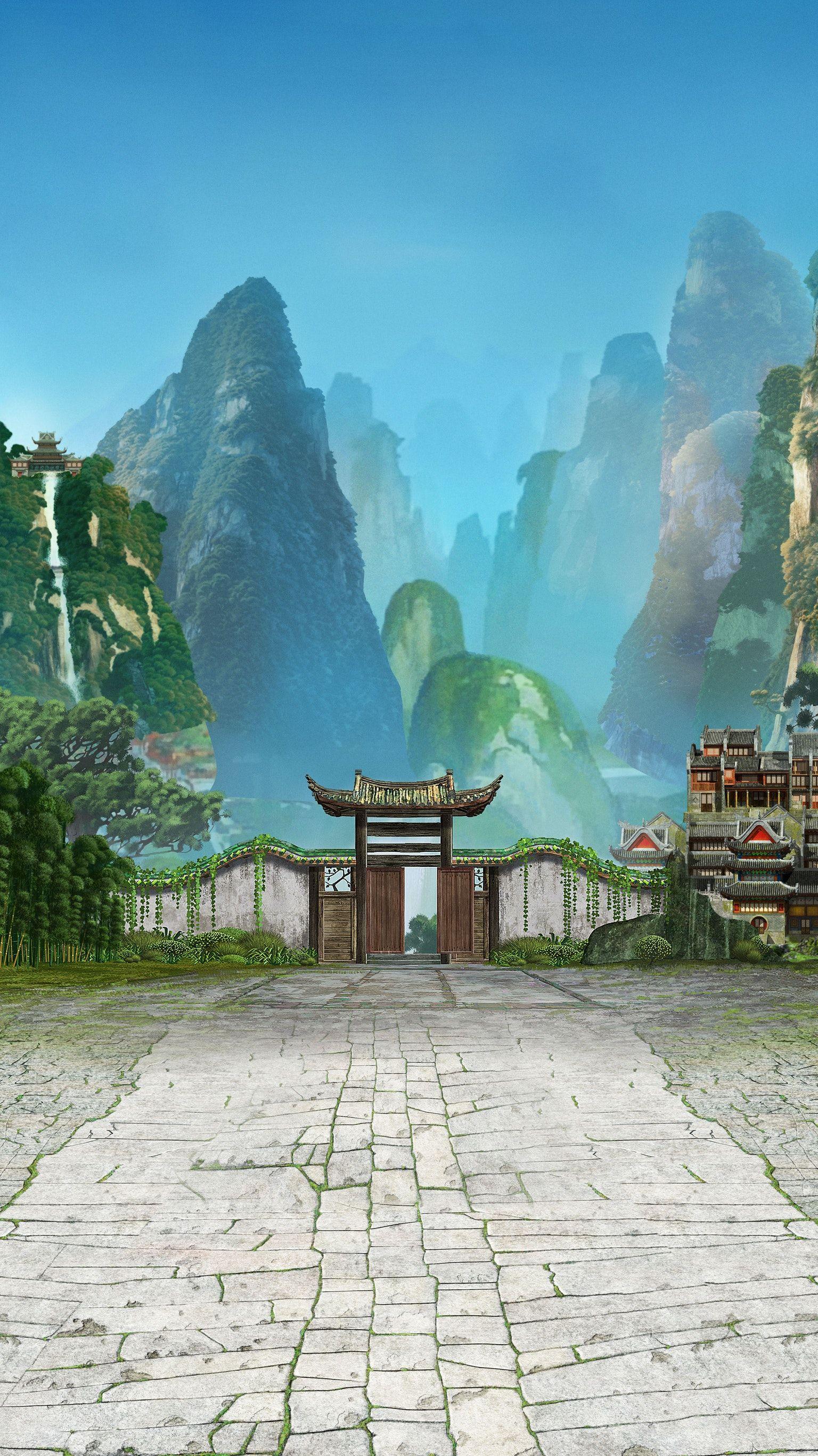 Kung Fu Panda 2 Phone Wallpaper In