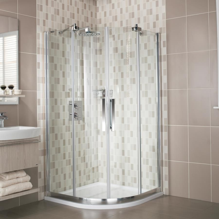 Desire 8mm Frameless Luxury Quadrant Shower Enclosure | sophie room ...