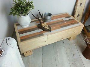 couchtisch aus Holzresten