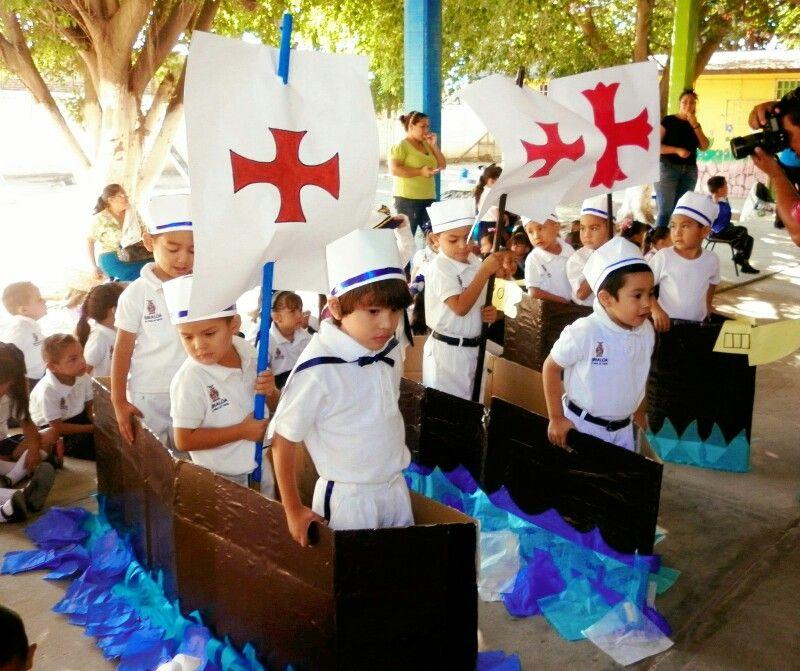 Descubrimiento De America Cristobal Colon Para Niños Día De La Hispanidad Cosas De Escuela