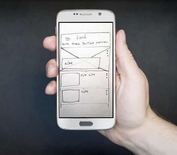 TfL Cardboard smartphone and pencil used for prototype - A preview - best of blueprint application mobile