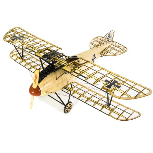 Albatross D.III German Fighter 492mm Wingspan Balsa Wood Airplane Handicrafts Decoration  €.34.45 ~ 41.35