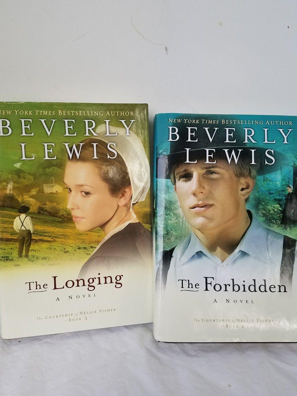 BEVERLY LEWIS Courtship of Nellie Fisher: 2 Books Forbidden,Longing   eBay