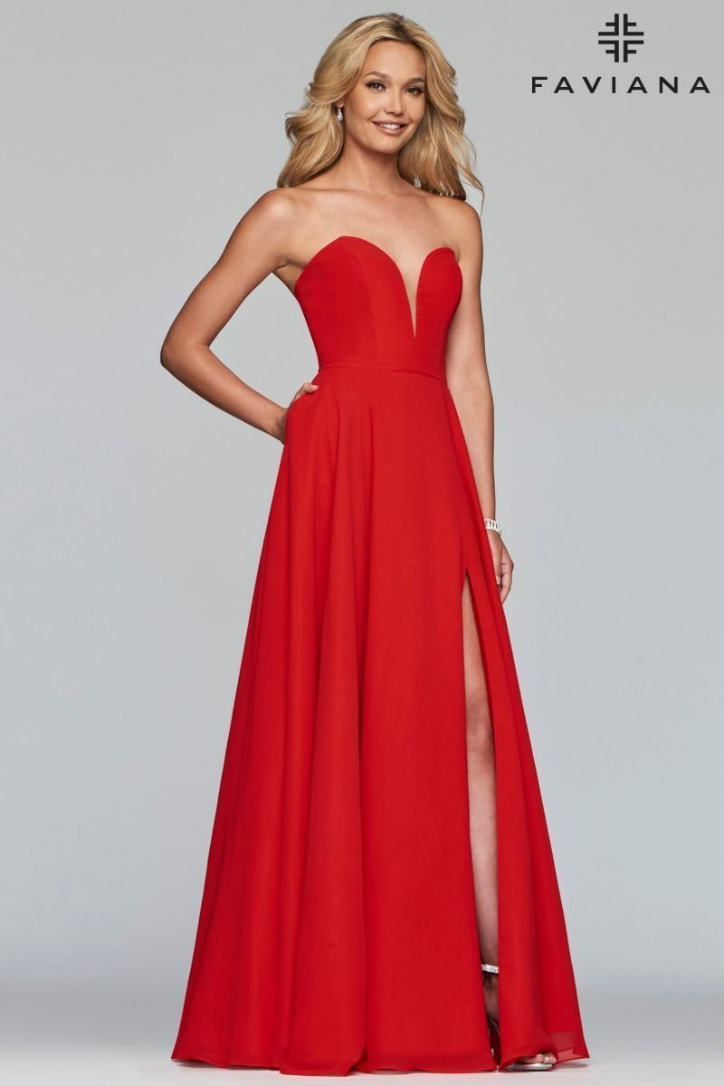 Abendkleid S10232 Von Faviana In 2020 Glamourose Abendkleider Formelle Kleider Abendkleid