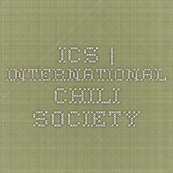 ICS   International Chili Society