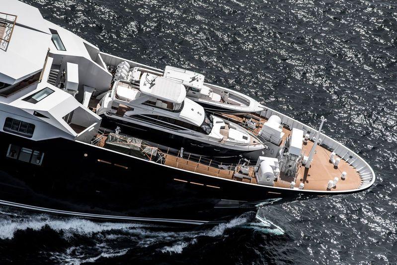Ulysses U116 On The North Sea Ulysses Yacht Boat Explorer Yacht