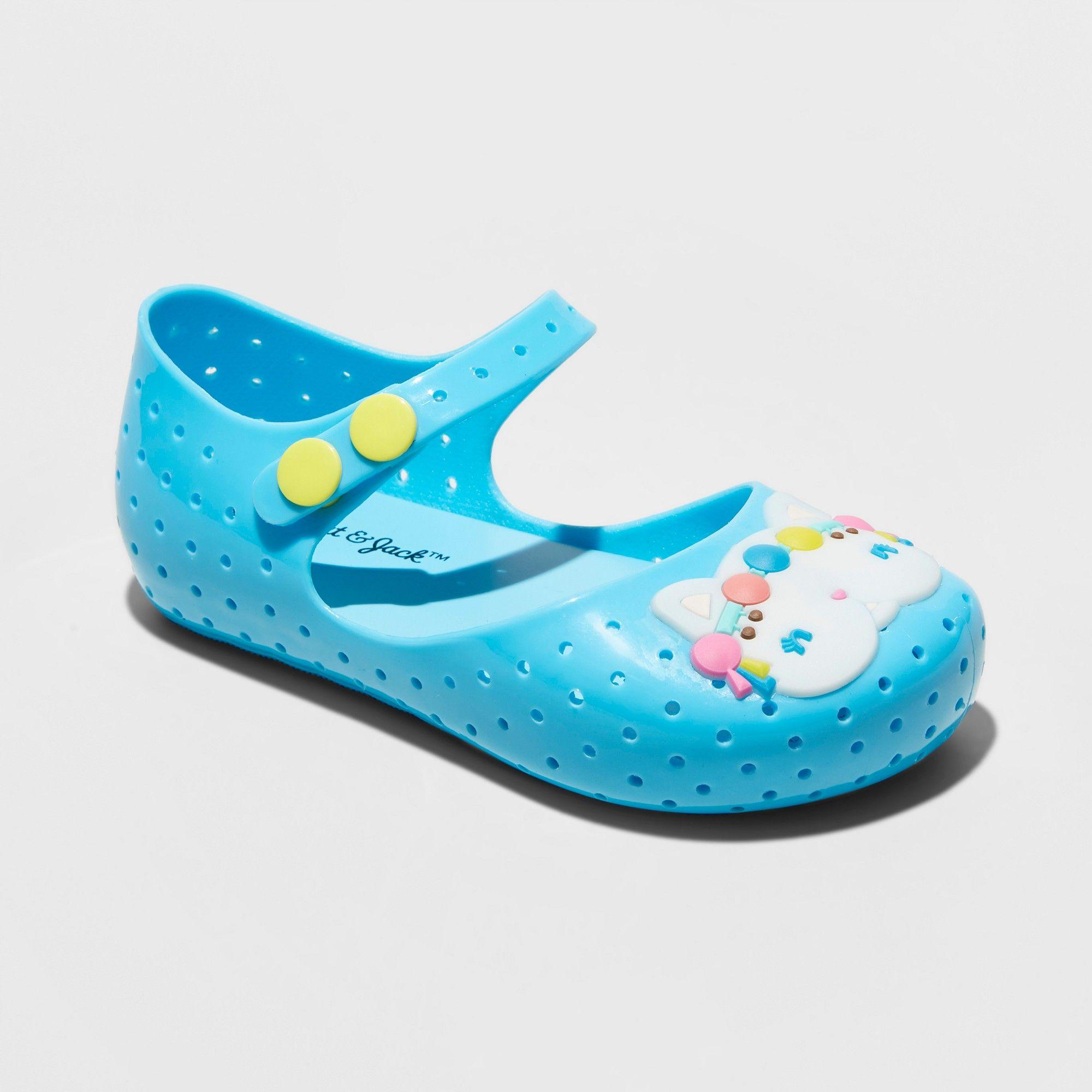 Toddler Girls\' Delayla Mary Jane Jelly Sandals - Cat & Jack Blue M ...