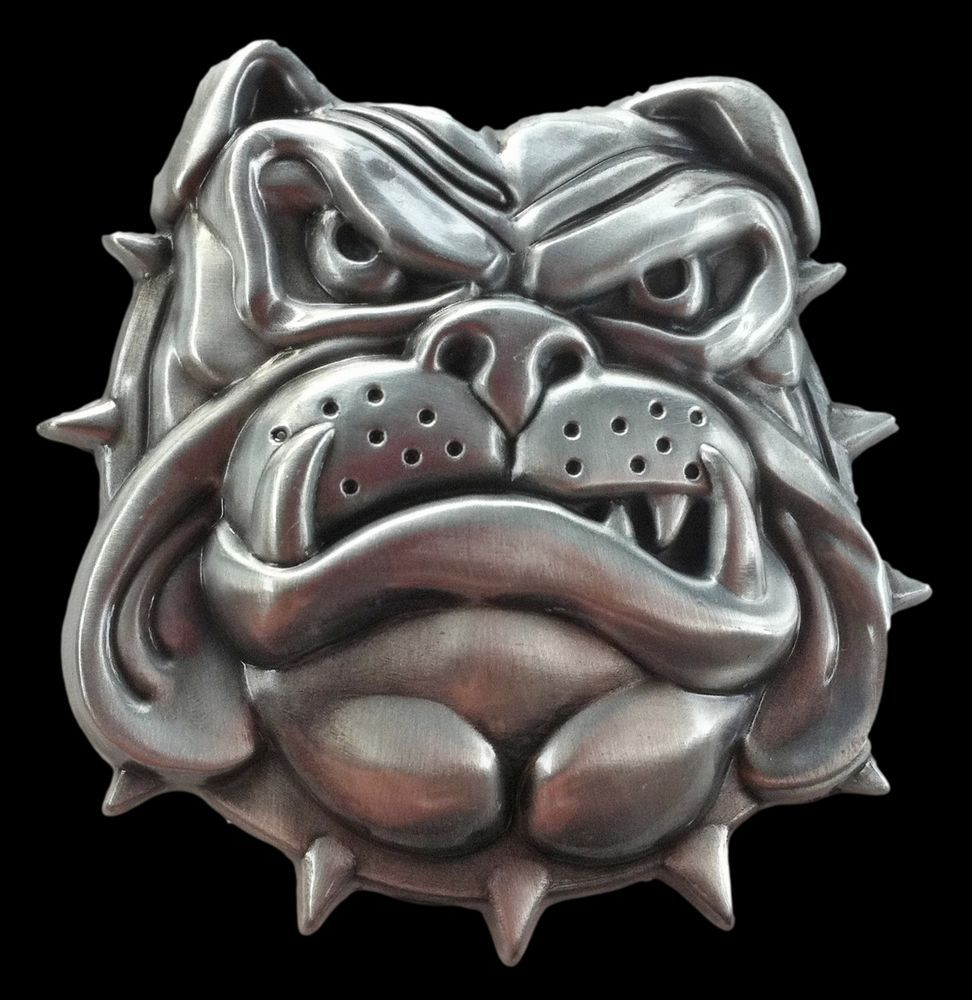 Dogs Bulldog Pet Dog Spikes Collars Belt Buckle Boucle de Ceinture #BULLDOG #DOG #FAMILYPET #GUARDDOG #BELTBUCKLE