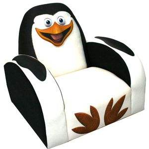 Dreamworks Madagascar Penguin Icon Chair Classroom