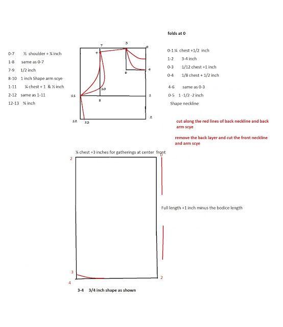 Pattern drafting | patrones | Pinterest | Patrones, Costura y Blusas