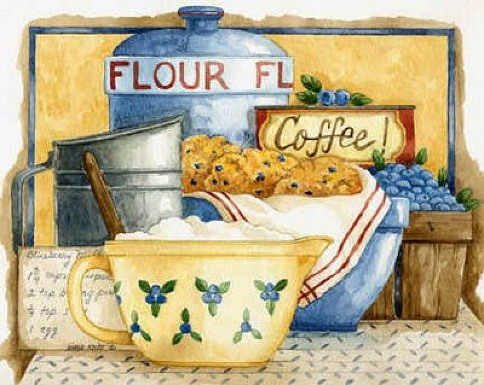 Country Kitchen by Diane Knott for Legacy Publishing Group