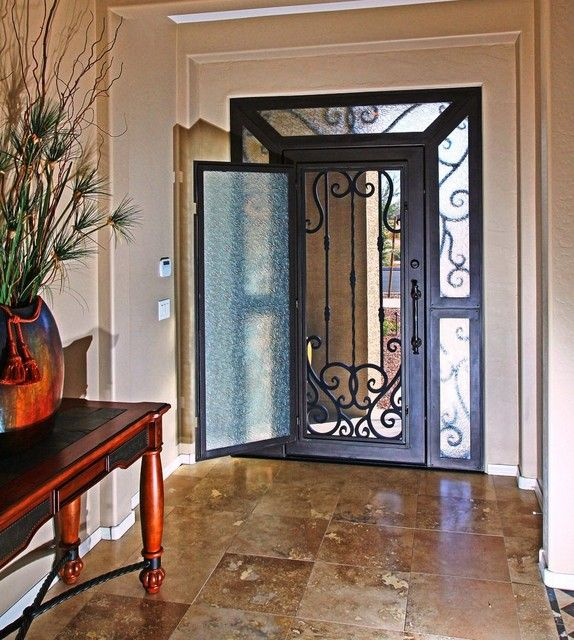 Iron Entry Door By First Impression Security Doors Modern
