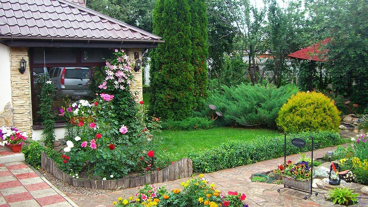 Оформление сада (47 фото) | Садовые идеи, Красивые сады и ...