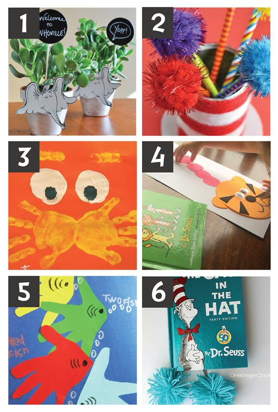 Dr Seuss Crafts Free Printables And Snacks Craft Ideas Dr