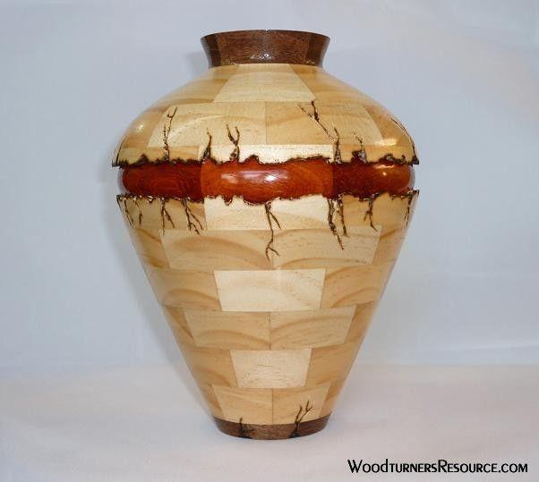 Woodturning Segmented Vase Wr Woodturning Gallery