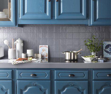 les peintures monocouches qui transforment tout d un coup de pinceau peinture meuble cuisine