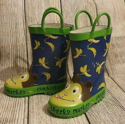 Details About Infant Kids Wellington Boots Wellies Size 4 Infant