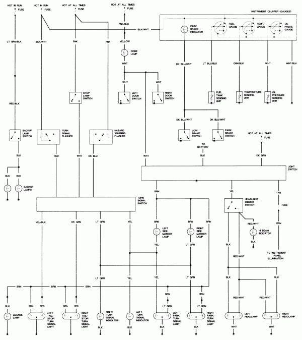 16 1986 Dodge Truck Wiring Diagram Truck Diagram Wiringg Net Dodge Truck Repair Guide Diagram