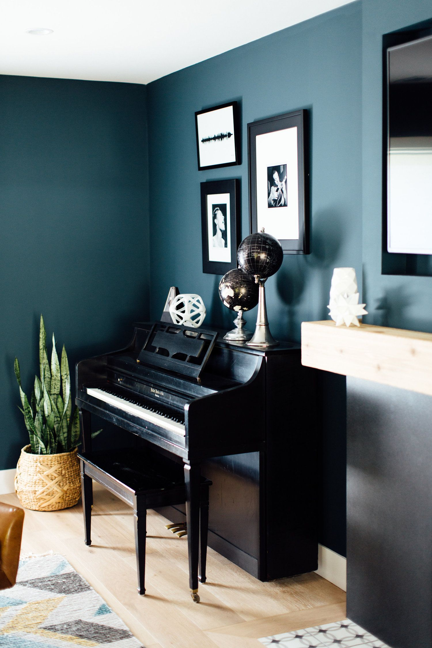 Pin By Michelle Lisac Interior Design On Mlid Client Projects Piano Room Decor Piano Room Design Piano Living Rooms Living room ideas piano