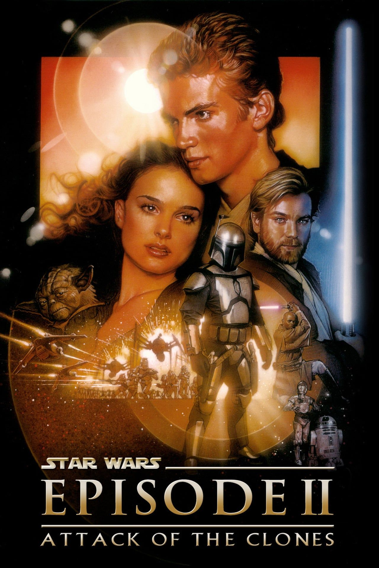 Star Wars 2 Streaming Hd : streaming, Episode, Attack, Clones,, Clones